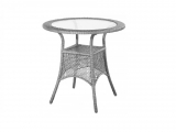 Steel Garden Table  Berlin 76cm