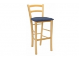 Dining chair Paysane - bar upholstered