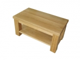 Clasical conference table Drevoland 110x60cm, with shelf (oak)
