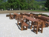 Garden Set Drevoland - Max 2,0m+2chairs, tl.45mm