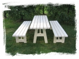Garden set Drevoland - Max 2m, tl.45mm  (without back)