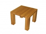 Conference table Drevoland-Ideal 90x90cm, tl.40mm (oak)