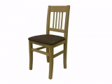 Dining chair Drevoland-Carmen, upholstered (oak)