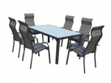 Garden Set Vaduz (Table + 6 Chairs)