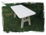 Garden Table Drevoland-Lux, tl.30mm 1,6m