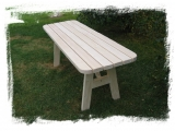 Garden Table Drevoland-Max 2,0x0,65m, tl.45mm