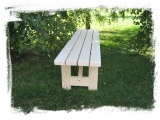 Garden Bench Drevoland-Max  2,0m, tl.45mm (without back)