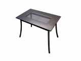 Metal Garden table PL 145x90cm