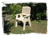 Garden Arm-chair Drevoland-Lux, tl.30mm