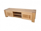 TV table Drevoland-Dream 140x40x50cm (oak) (2 doors)