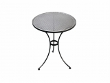 Metal Garden round table TAKO 70cm