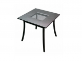 Metal Garden table PL 90x90cm