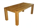 Modern Dining table Drevoland 180x90cm, tl.40mm (oak)