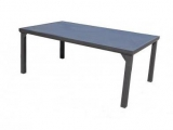 Steel Garden Table Vaduz 180x105cm - stonetec