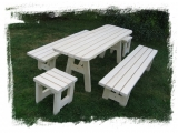 Garden set Drevoland - Max 2m+2chairs, tl.45mm  (without ...